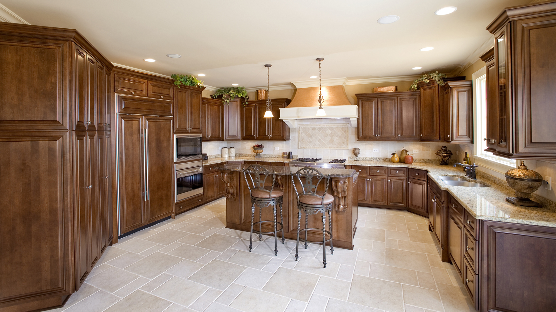 Custom Kitchen Cabinets, Doors and Countertops   Romar Cabinet and ...